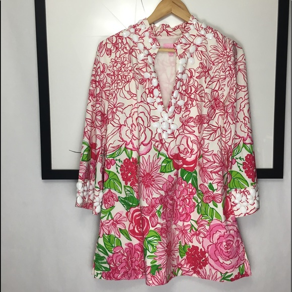 7b02b7e299ead9 Lilly Pulitzer Tops - Lilly Pulitzer Newbury Tunic Engineered
